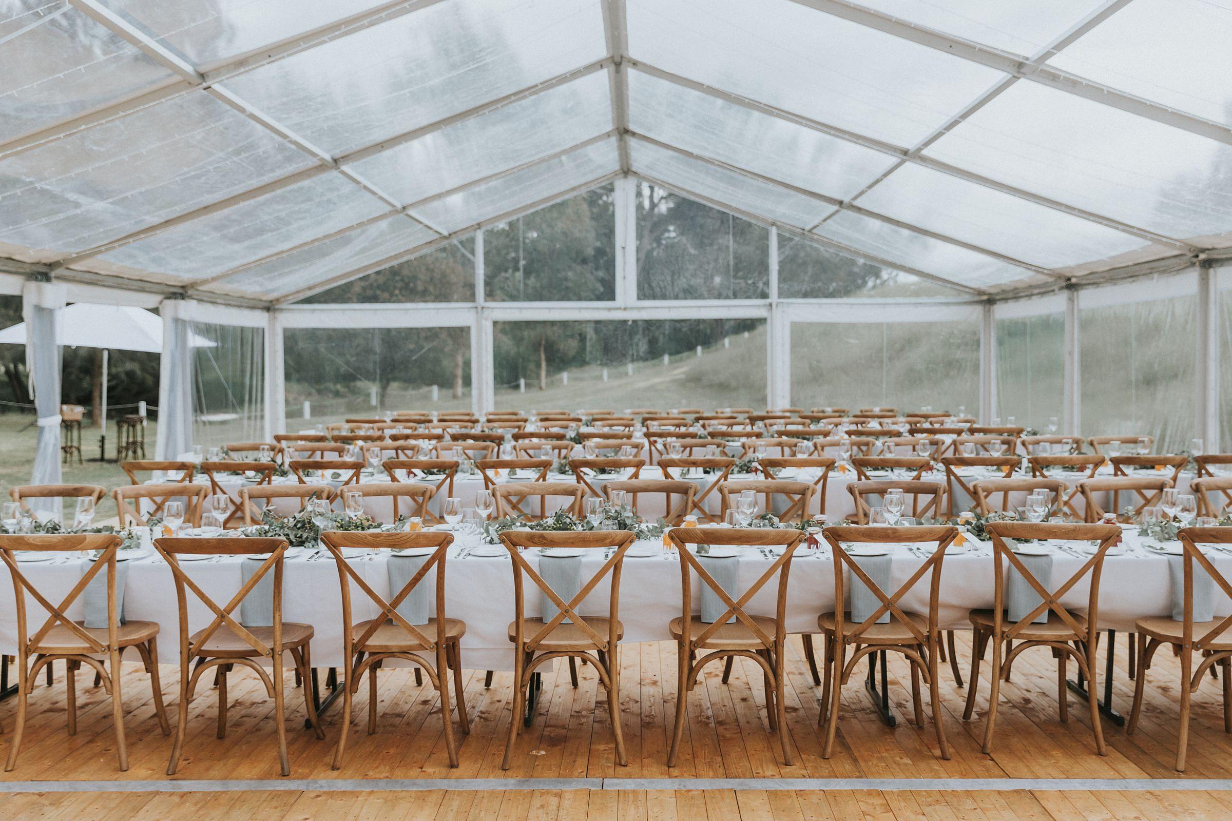 nimbo fork lodge wedding reception