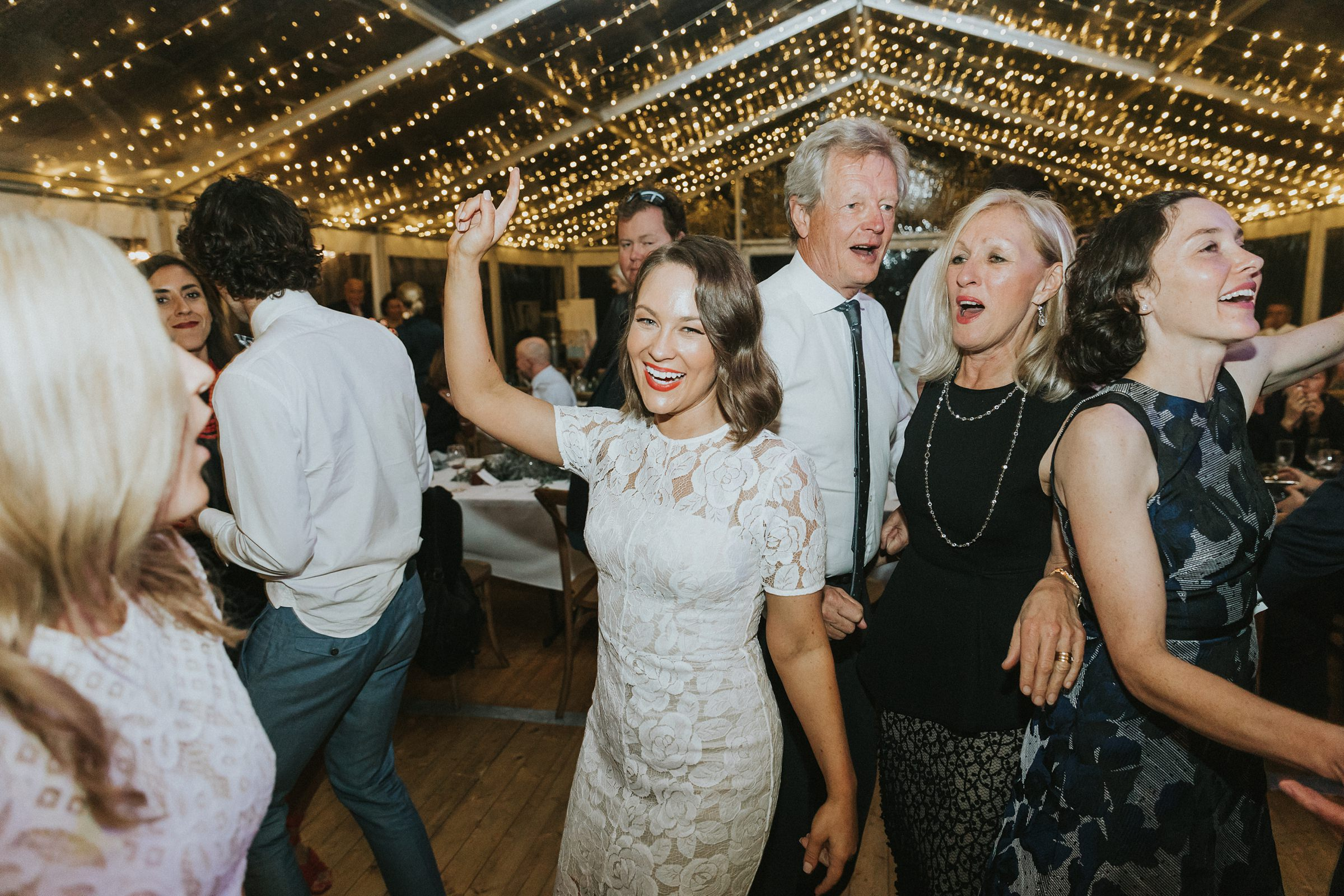 dance floor wedding photos