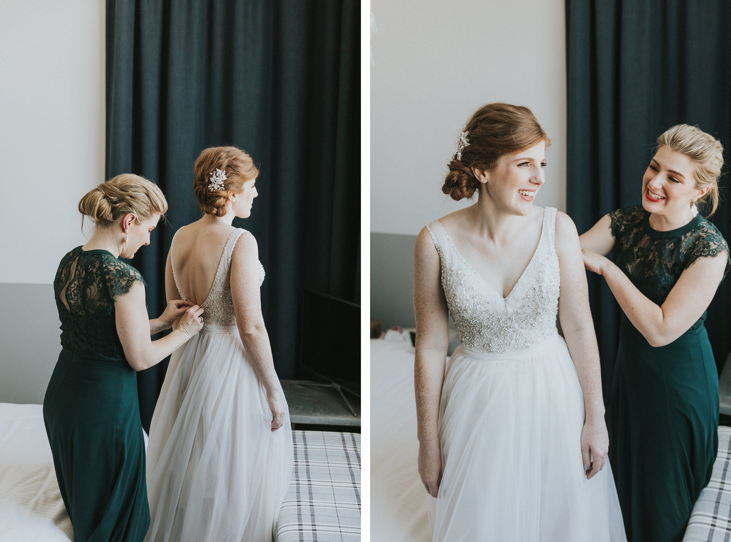 sydney wedding bridal prep photography