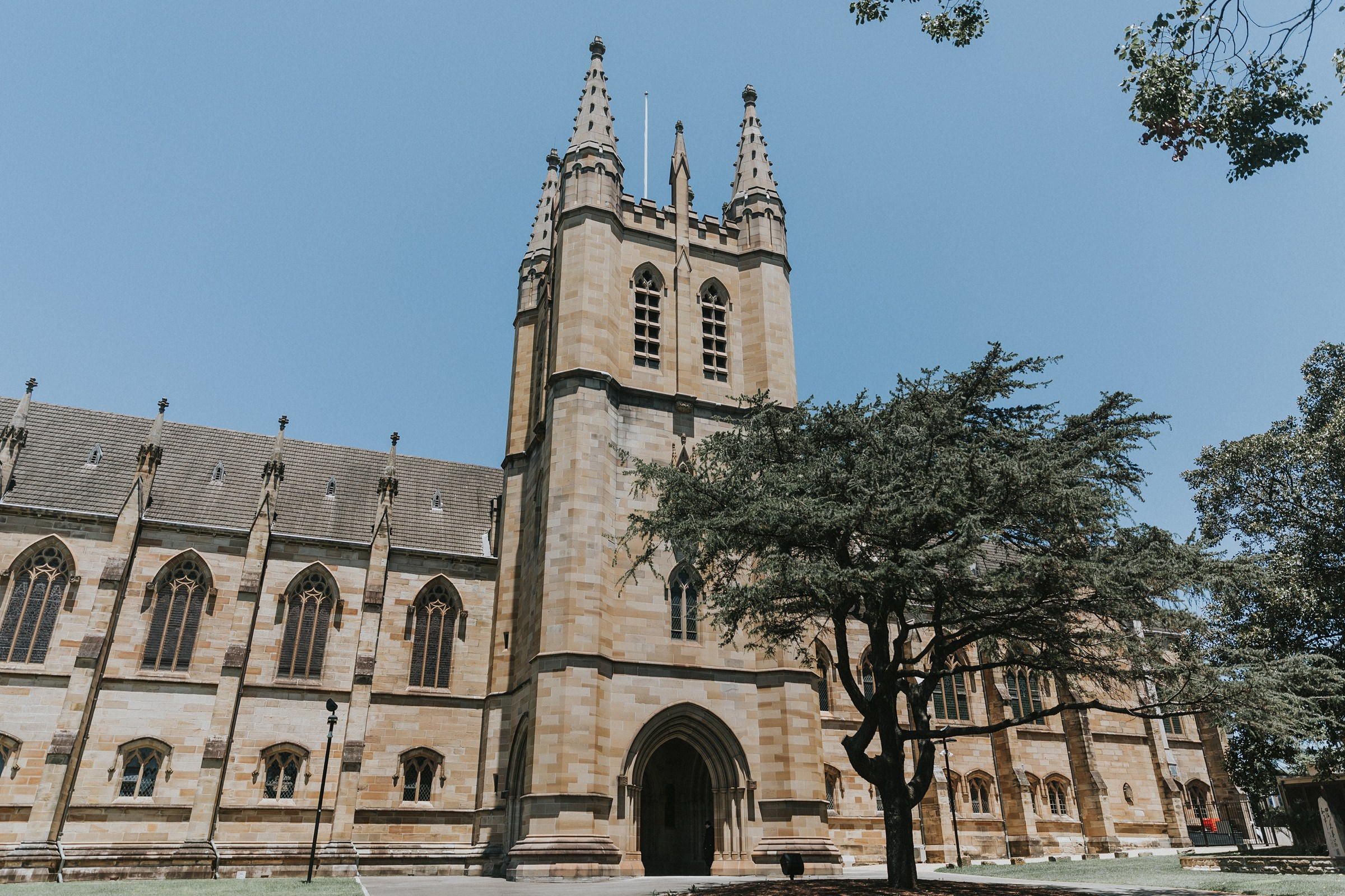 st john's college chapel at the university of sydney