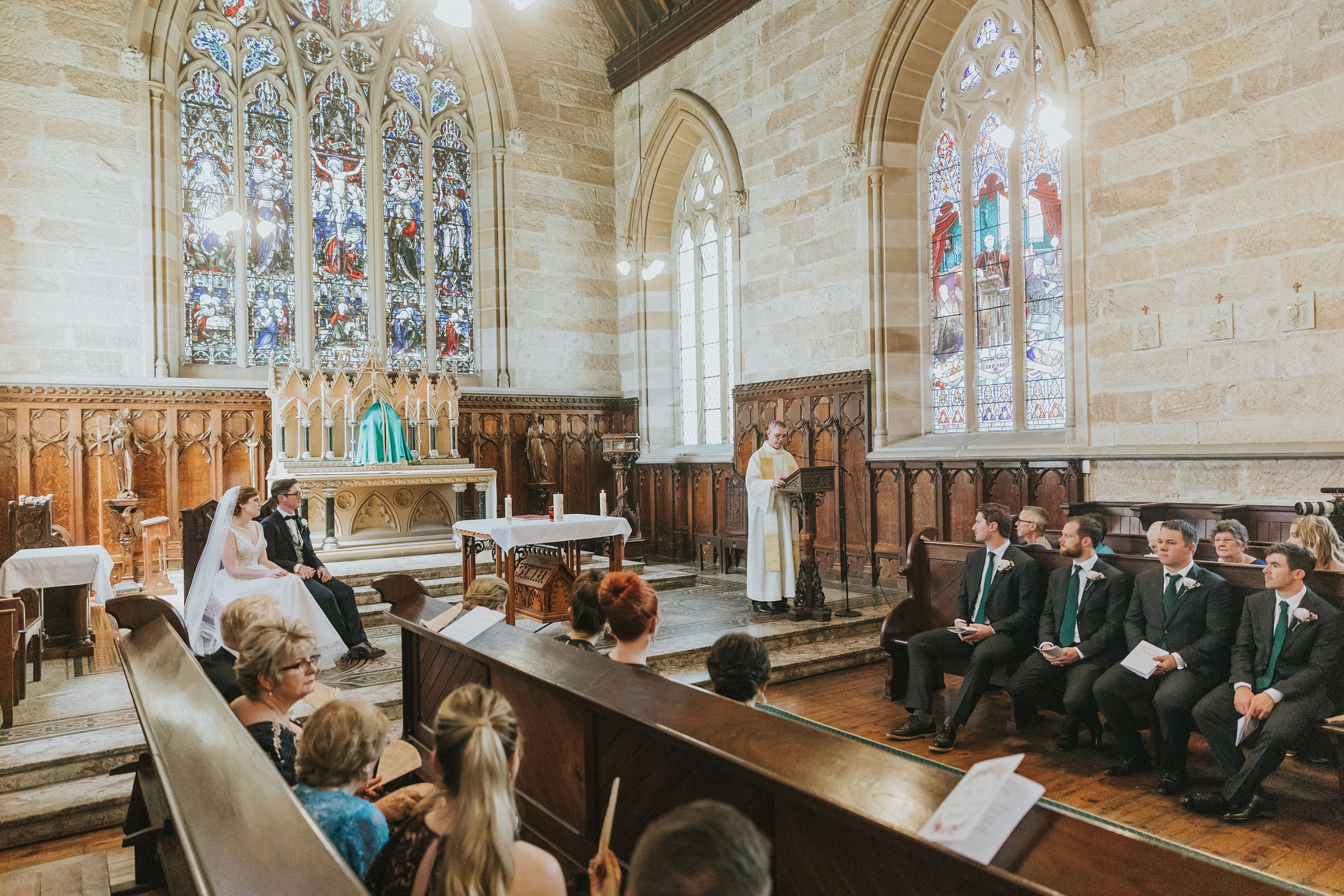 wedding sermon in catholic wedding ceremony