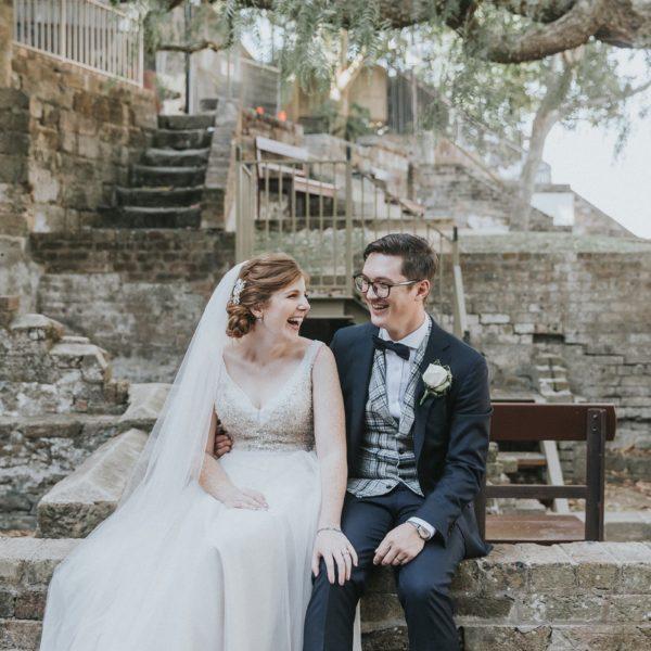 Sydney Observatory Wedding   Holley & Andrew