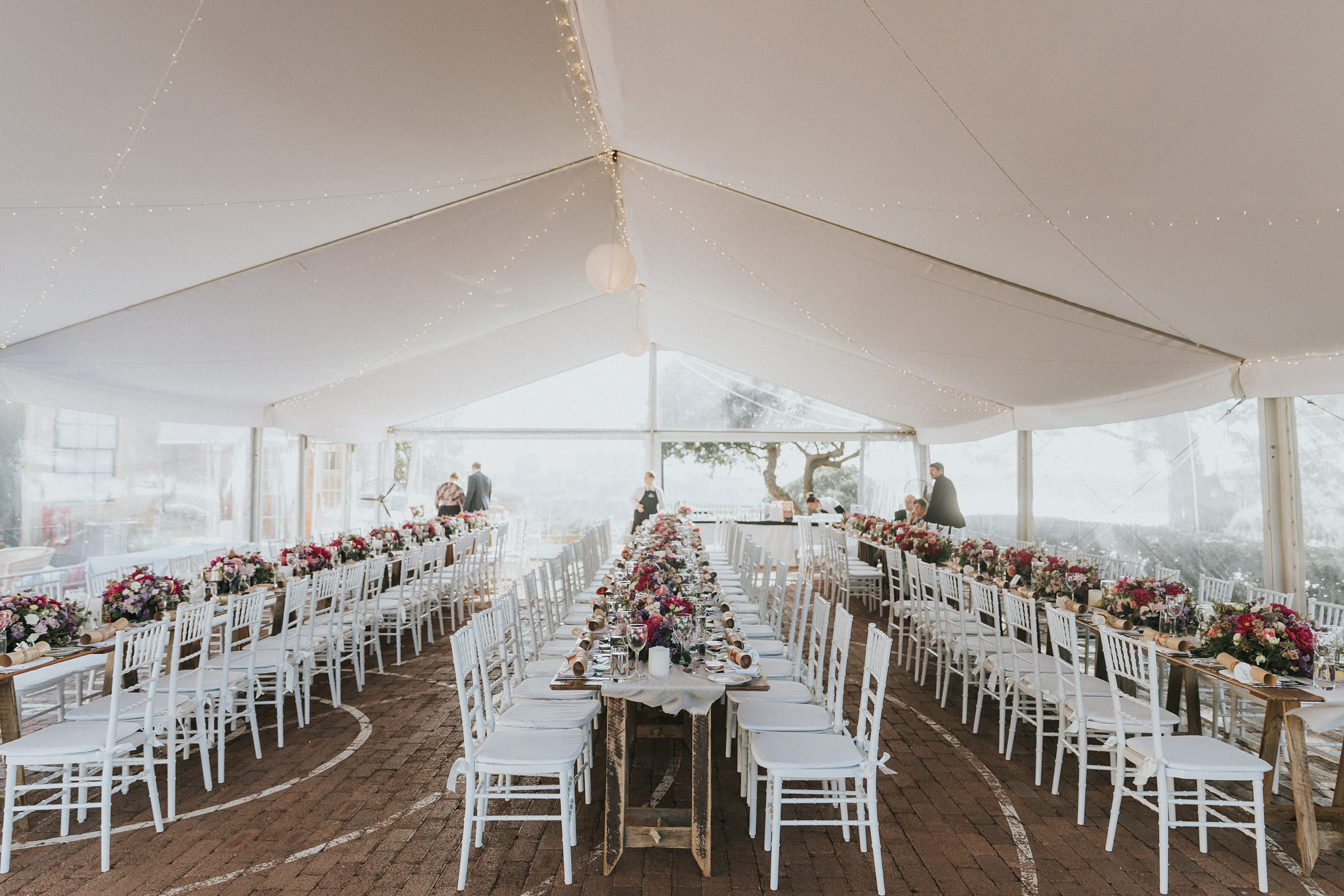 sydney observatory marquee wedding reception