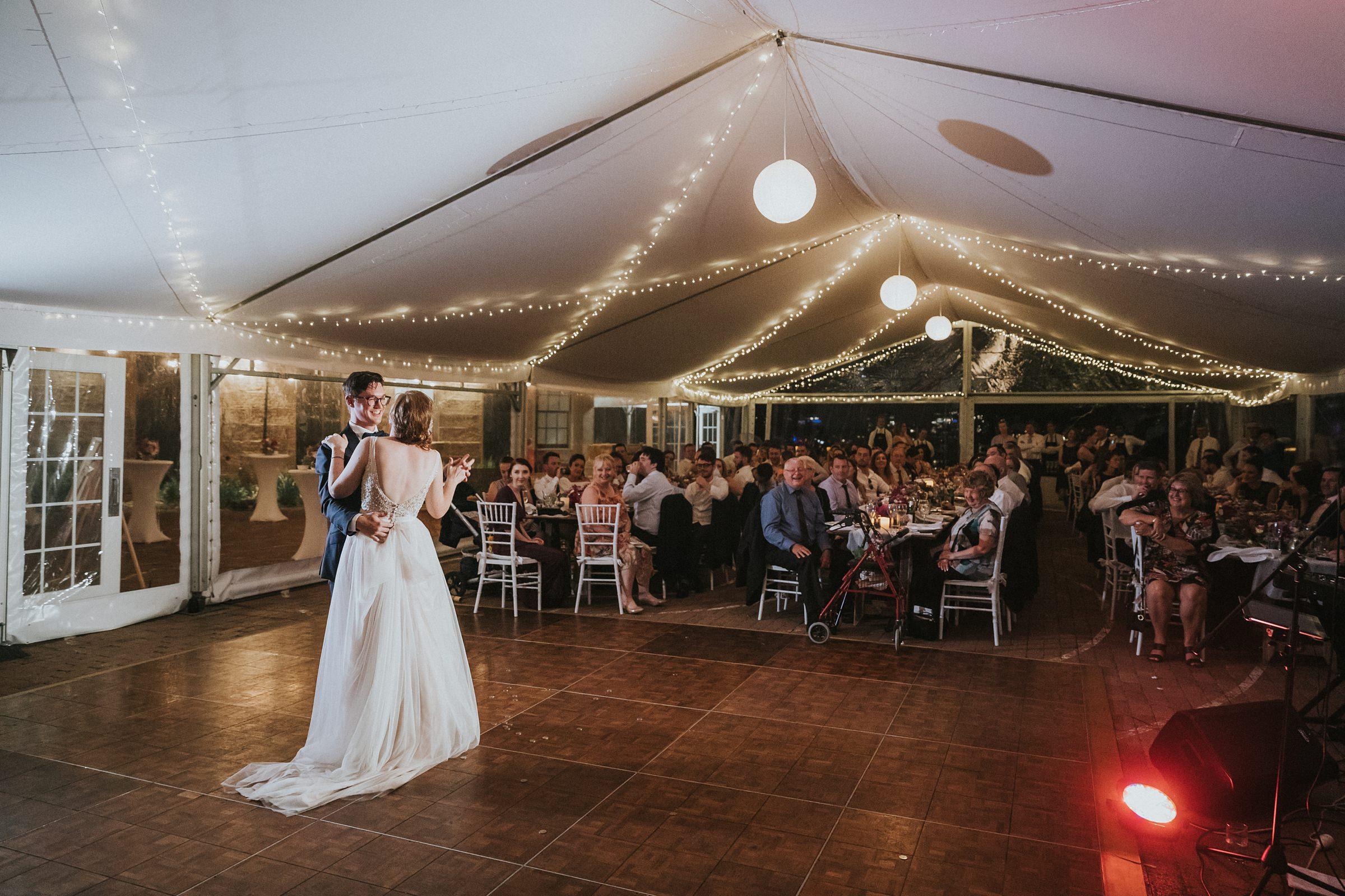 marquee bridal waltz in sydney