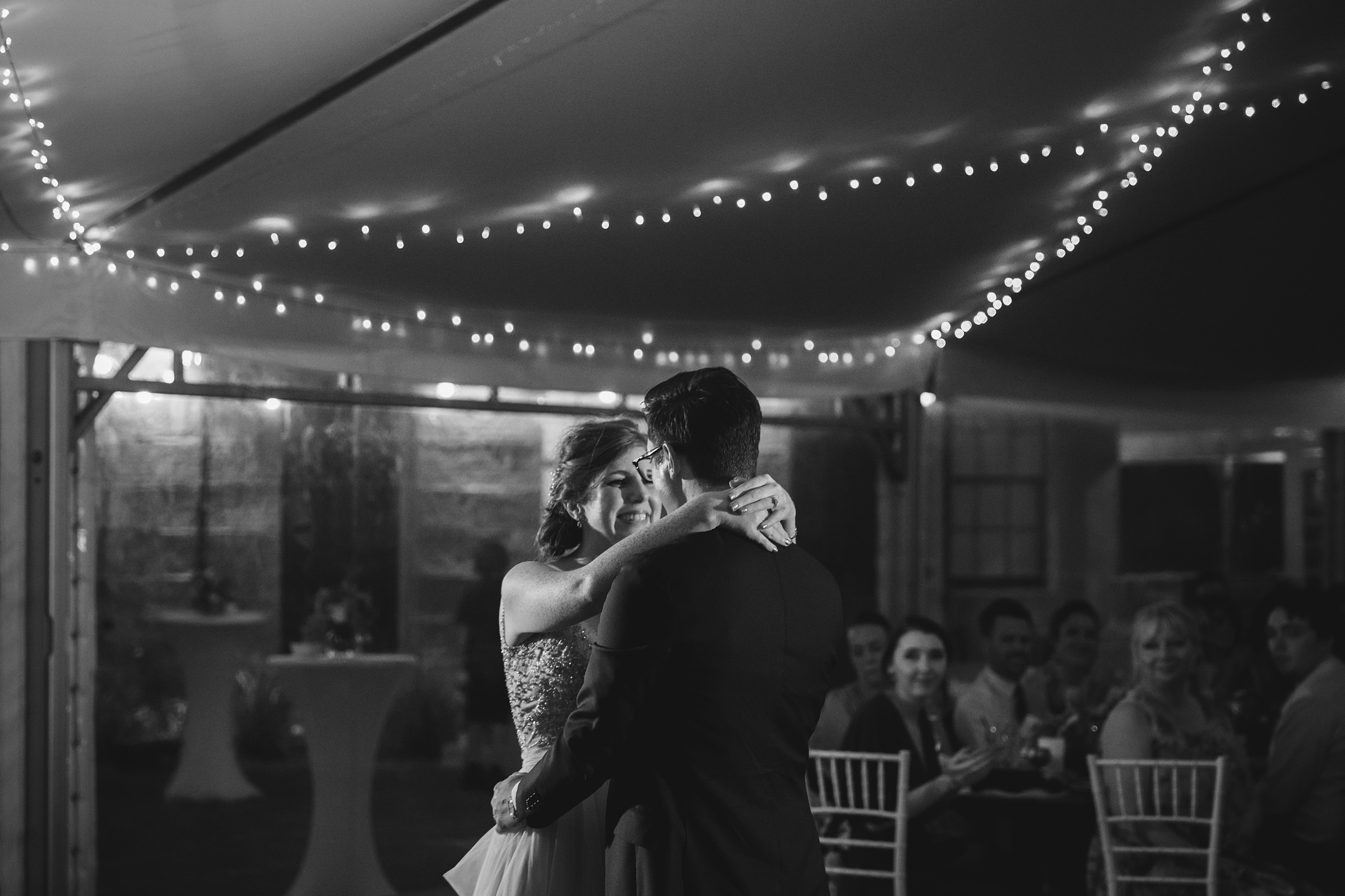 sydney observatory marquee bridal waltz photo